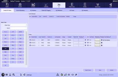 Manually Ordering QC Tests Video