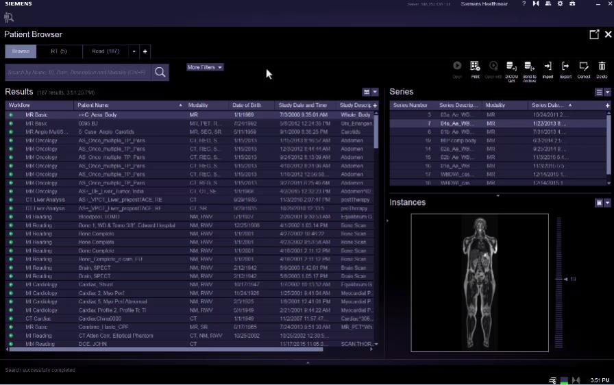 Patient Browser VB20 e-Clip