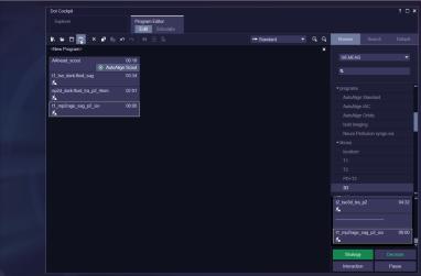 Dot Cockpit - Program Editor - Create Program