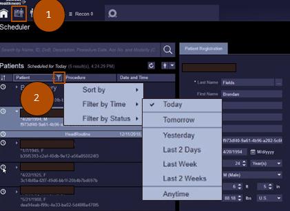 Filtering Scheduler Job Aid (VA20)