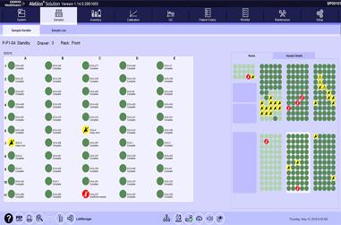 Monitoring Sample Status on the Sample Handler Video