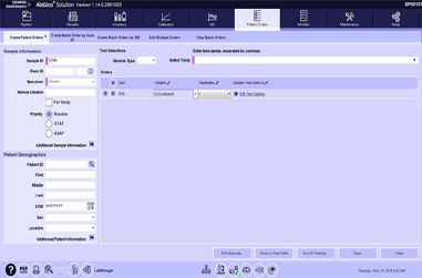 Manually Ordering Patient Tests Video