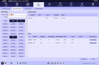 Manually Ordering Calibrations Video